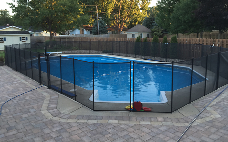 Child Guard Pool Fence